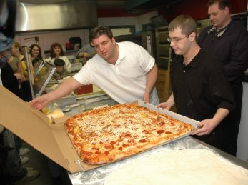 Commercial Worlds Largest Pizza